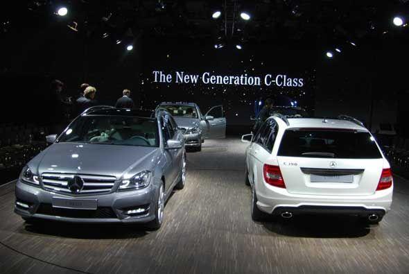 La nueva generación del Mercedes-Benz C-Class estará disponible a partir...