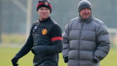 Todo parece que los rumores de ruptura entre Rooney y Ferguson no son má...