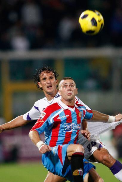 La jornada se cerró con el encuentro entre Catania y Fiorentina.