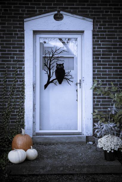 Una puerta ¡siniestra! Una manera simple de darle a tu hogar un to...