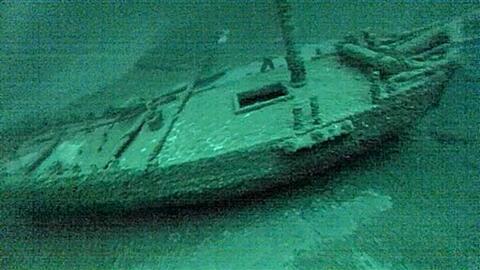 La corbeta se hundió en el lago Ontario hace 213 años