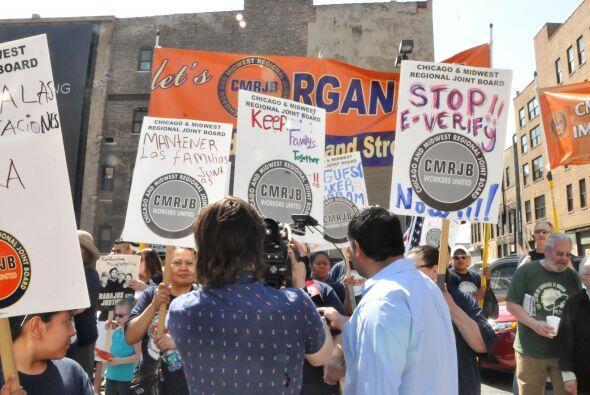 Marcha del primero de mayo 2013 en Chicago