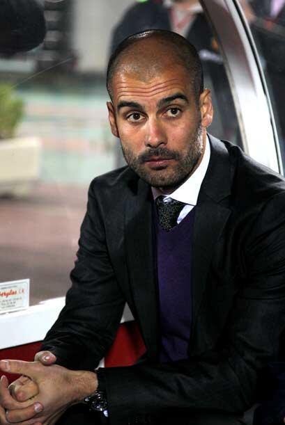 Guardiola sufrió desde el banquillo un partido muy complicado para su eq...