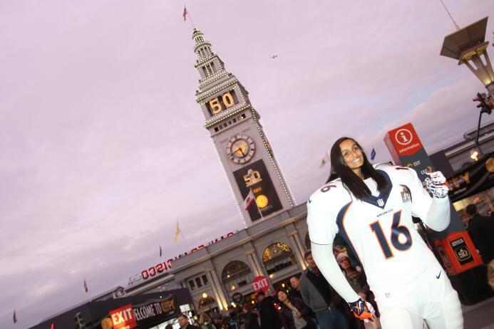 San Francisco luce reluciente ante la llegada de la pasión NFL por el Su...