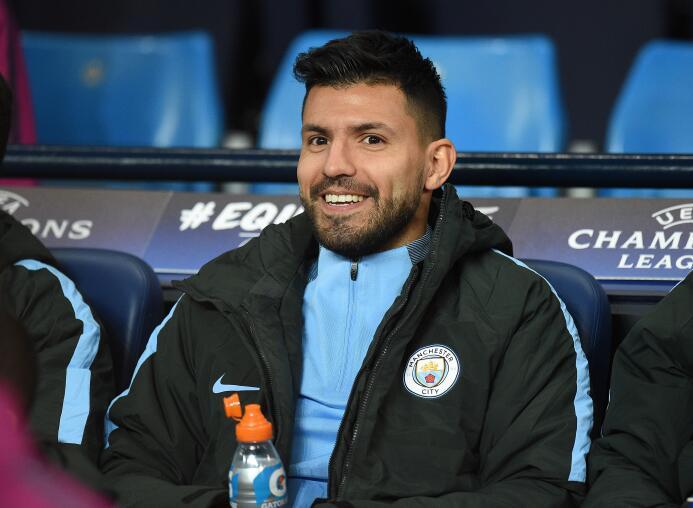 Delantero: Sergio Agüero (Manchester City)