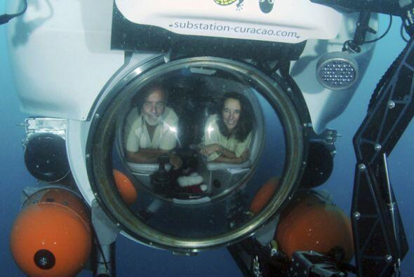 El CURASUB es un submarino recreativo transformado para la investigaci&o...