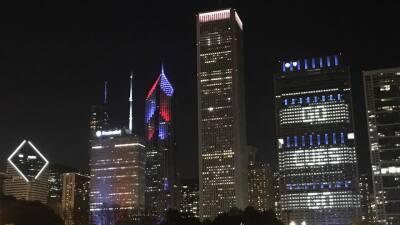 Chicago se pinta de azul, rojo y blanco para celebrar el triunfo de los Cubs