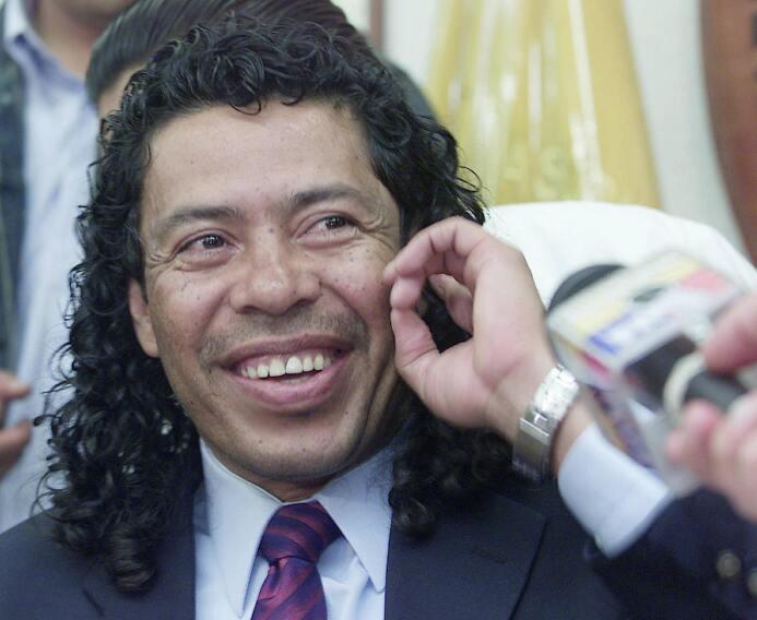 El colombiano René Higuita jugó en el 2004 con Aucas de Ecuador y al fin...