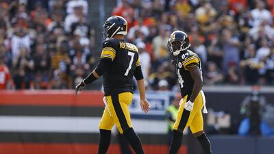 Roethlisberger cree que es desafortunado el berrinche de Antonio Brown