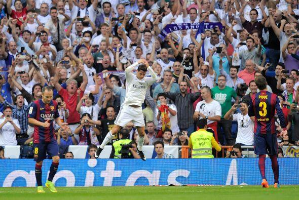 Fue el 25 de octubre cuando se celebró el 'derby' donde el Madrid...
