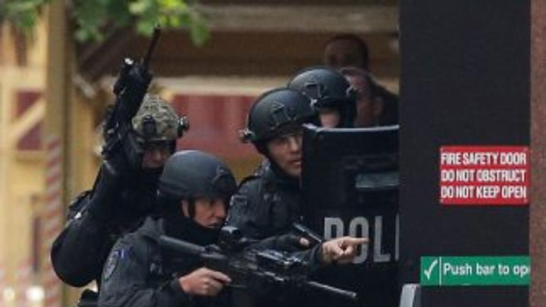 La policía de Australia contactó al pistolero y dijo que el operativo de...
