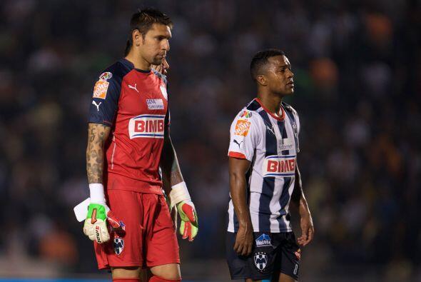 Jonathan Orozco, el portero de Rayados mantuvo en la eliminatoria a su e...