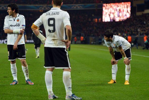 Valencia se esforzó por dar la campanada de visita, pero los goles no ll...
