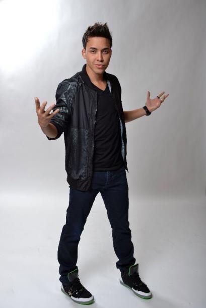Este joven cantante se ha convertido en el favorito del público.