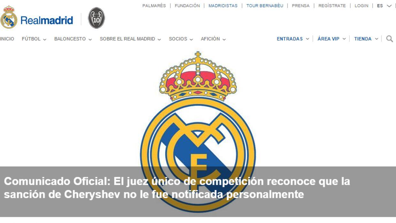 Comunicado Real Madrid CF
