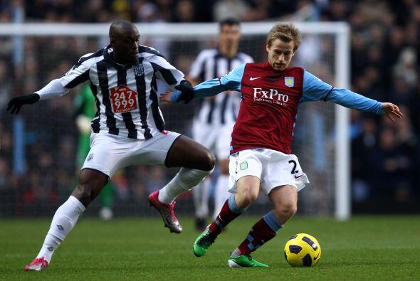 Aston Villa logró un valioso triunfo ante elWest Bromwich. Le ga...