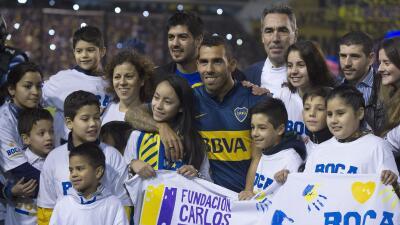 El delantero argentino jugará con Boca Juniors.