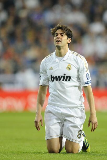 Kaká fue factor para el gol de los madridistas, pero con el paso de los...