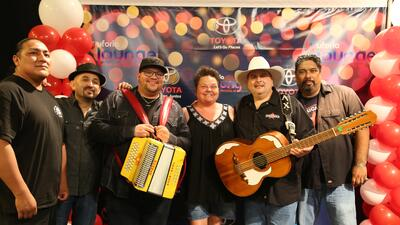 Max Baca and the Los Texmaniacs took over the Uforia Lounge