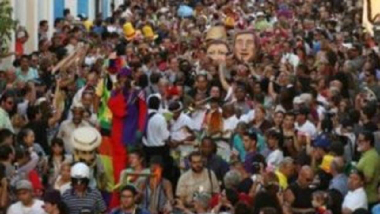 Tradicional fiestas en San Juan.