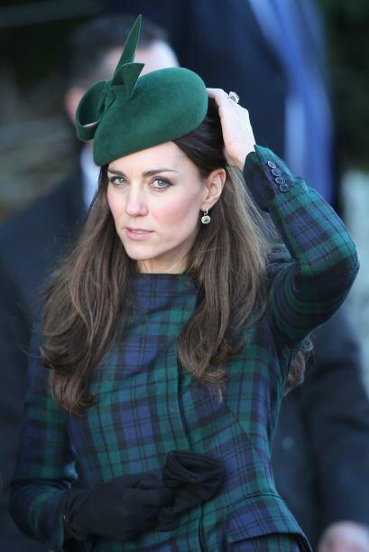 La familia real británica saca sus abrigos