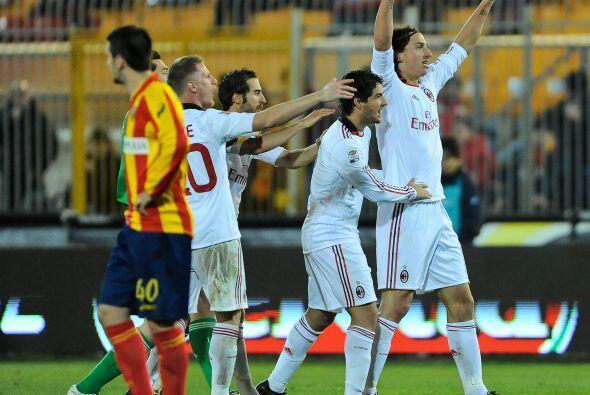 El Milan sentía un alivio pues sus perseguidores ganaron.