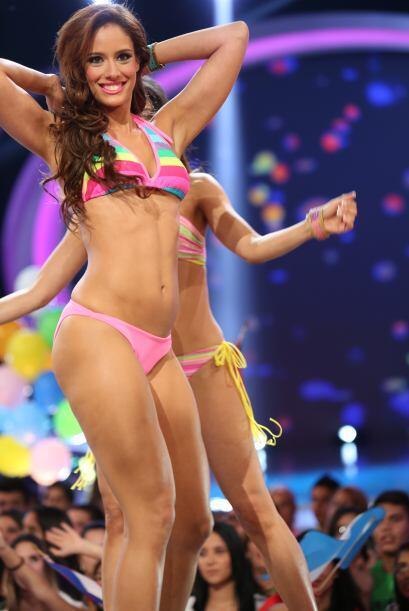 ¡Qué cuerpos tan espectaculares! Esos bikinis lucen muy bien en cada una...