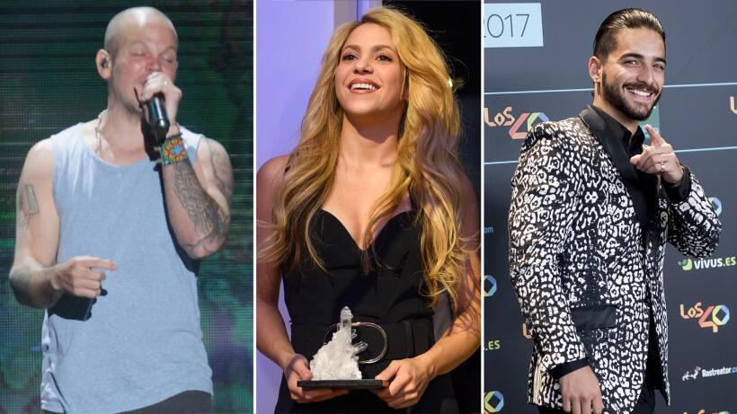 Foto a foto: los más nominados a Latin Grammy 2017