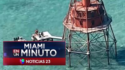 'Miami en un Minuto': Australia acogerá a los balseros cubanos que llegaron hace un año al faro, cerca de las costas de Florida