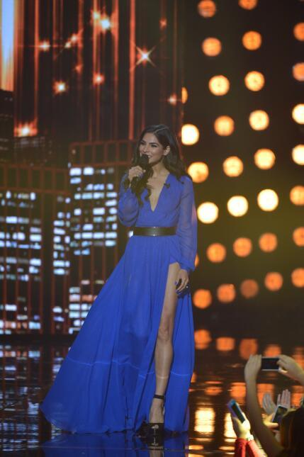 Alejandra lució sencillamente espectacular en la gran final con un vesti...