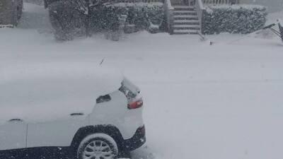 Fotos de la tormenta de nieve de los usuarios de Univision Chicago
