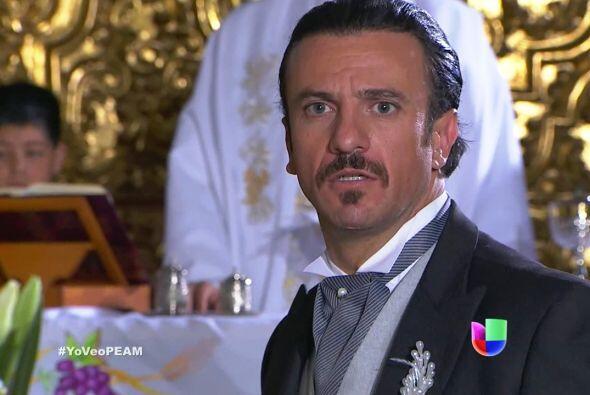 Fernando se sorprendió al ver a una persona muy especial en su vida.