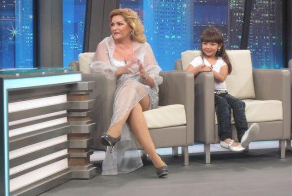 Al show también llegó Rocío Banquells, quien dio vida  a la malvada 'Jos...