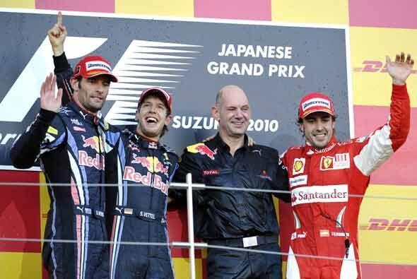 Seguramente uno de estos tres pilotos será el campeón de este año.