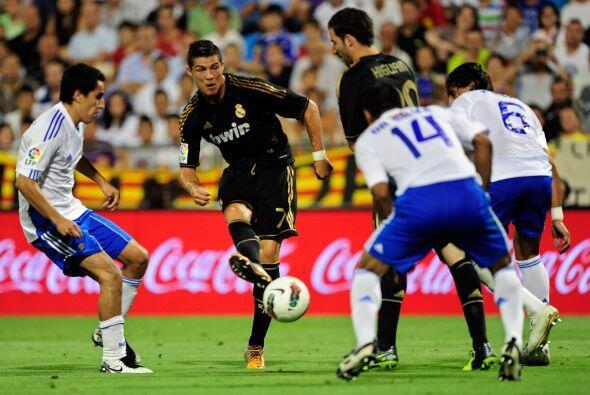 Como si fuera un concurso para ver quién anotaba más goles, Real Madrid...