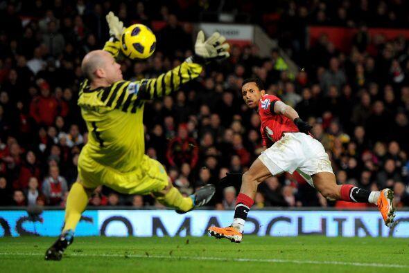 Arsenal intentaba una y otra vez sin tener éxito.