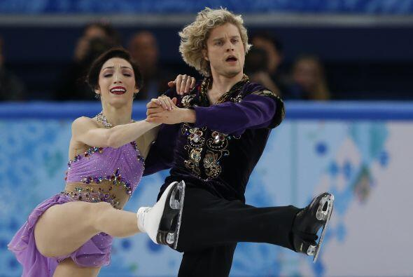 Meryl Davis y Charlie White se han proclamado hoy campeones olímp...