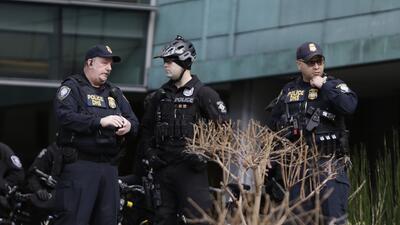 Agentes federales del Departamento de Seguridad Nacional (DHS).