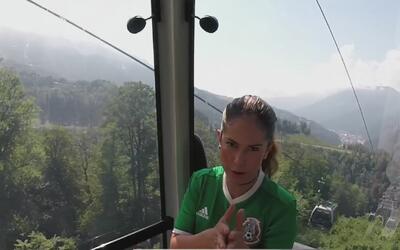 El Diario de Ana Caty llegó a lo más alto de Sochi, visitando la estació...