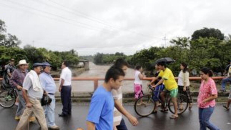 Las lluvias en Centroamérica y México han dejado una desgarradora estela...