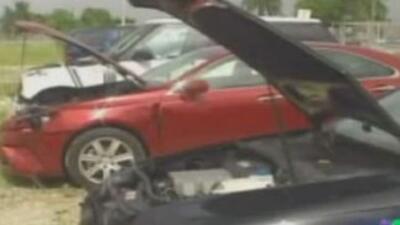 Según autoridades, los tasadores hacían más daños a los autos para cobra...