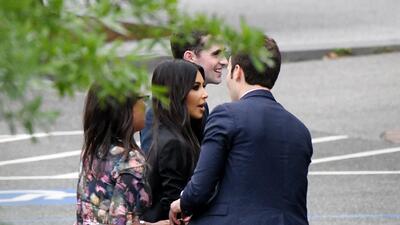 En fotos, la visita de Kim Kardashian a Trump que la llenó de esperanza y optimismo