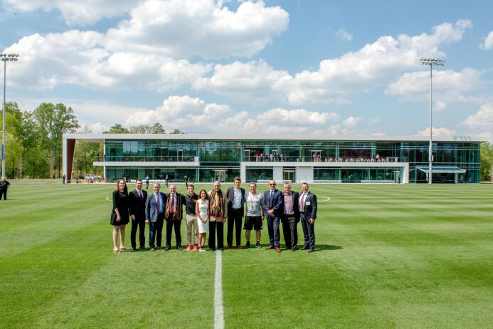 Nuevo complejo de entrenamiento de Atlanta United